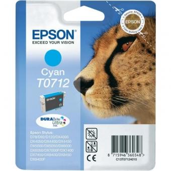 EPSON T0712 CYAN INKJET CARTRIDGE