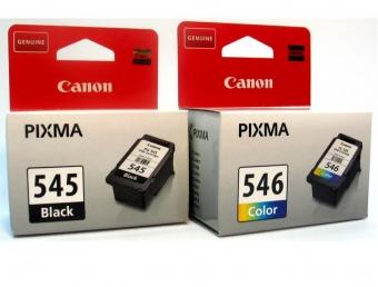 CANON PG545/CL546 INKJET PACK CARTRIDGES