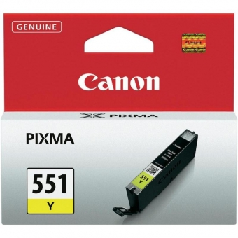 CANON CLI-551Y YELLOW INKJET CARTIDGE
