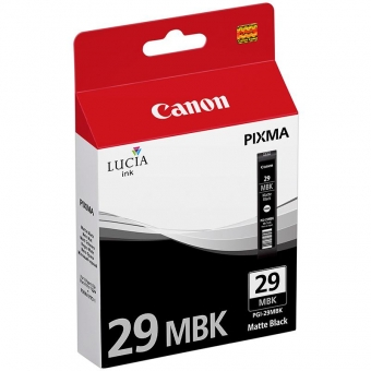 CANON PGI-29MBK BLACK INKJET CARTRIDGE