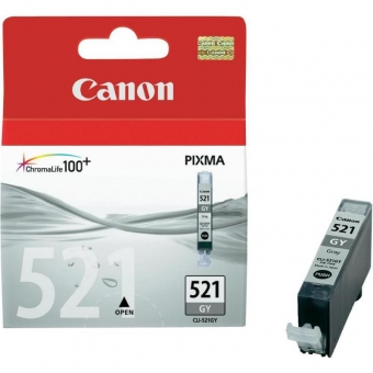 CANON CLI-521GY GREY INKJET CARTRIDGE