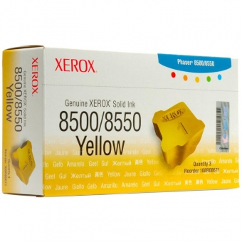 XEROX 108R00671 YELLOW INK CARTRIDGE