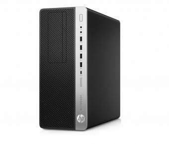 HP 800G3 TWR I5-7500 8G 256+500 W10P