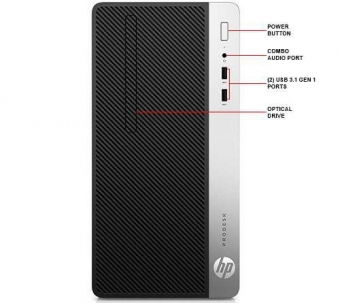 HP 400G4MT I5-7500 4G 500G DOS