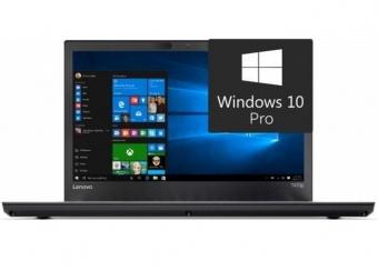 Lenovo ThinkPad T470p I7-7700HQ 16GB 512GB 940MX W10P