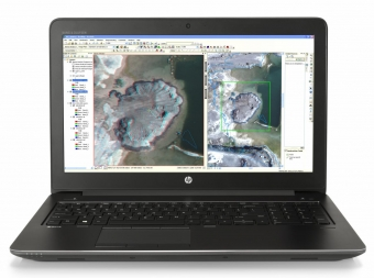 HP ZBook 15 i7-6700HQ 15.6 8GB/256 PC