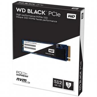 WD SSD 512GB BLACK M.2 2280 WDS512G1X0C