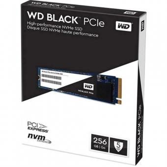 WD SSD 256GB BLACK M.2 2280 WDS256G1X0C