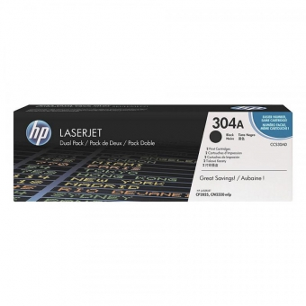 HP CC530AD BLACK TONER CARTRIDGE