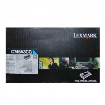 LEXMARK C746A3CG CYAN TONER