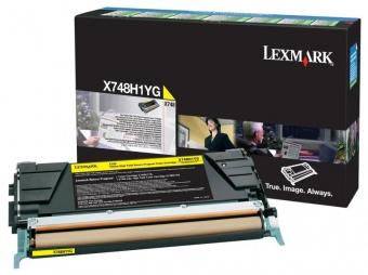 LEXMARK X748H1YG YELLOW TONER