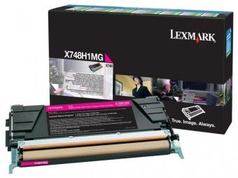 LEXMARK X748H1MG MAGENTA TONER