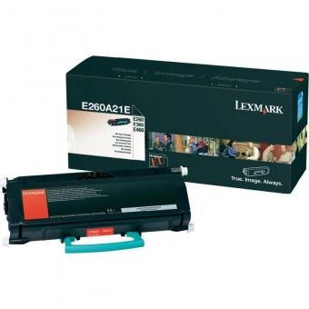 LEXMARK E260A31E BLACK TONER