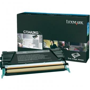 LEXMARK C734A2KG BLACK TONER