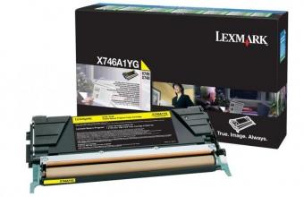 LEXMARK X746A1YG YELLOW TONER
