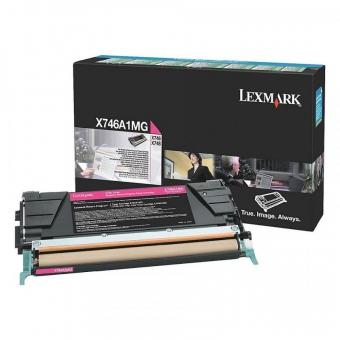 LEXMARK X746A1MG MAGENTA TONER