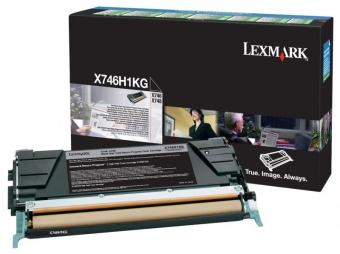 LEXMARK X746H1KG BLACK TONER