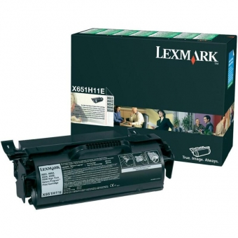 LEXMARK X651H11E BLACK TONER