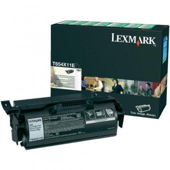 LEXMARK T654X11E BLACK TONER