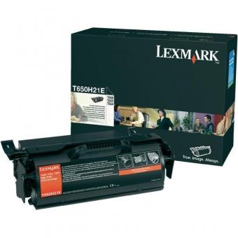 LEXMARK T650H31E BLACK TONER