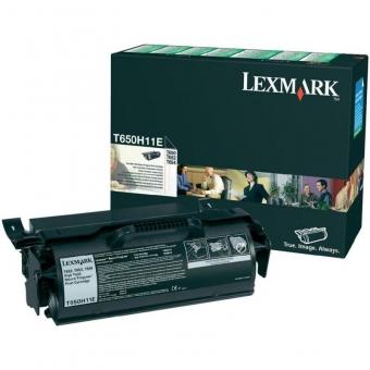 LEXMARK T650H11E BLACK TONER