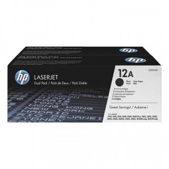 HP Q2612AD BLACK TONER CARTRIDGE