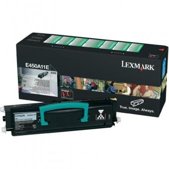 LEXMARK E450A11E BLACK TONER
