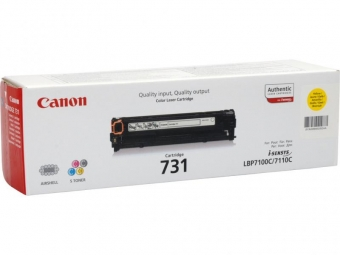 CANON CRG731Y YELLOW TONER CARTRIDGE