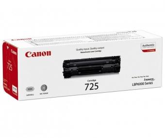 CANON CRG725 BLACK TONER CARTRIDGE