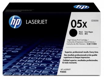HP CE505XD BLACK TONER CARTRIDGE