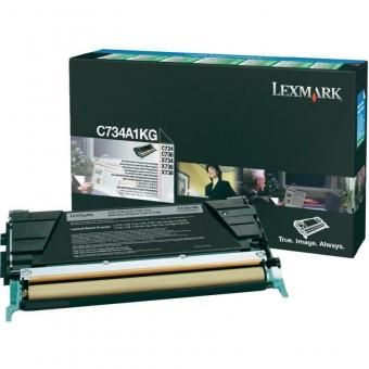 LEXMARK C734A1KG BLACK TONER