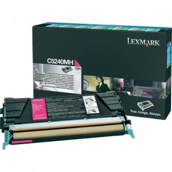 LEXMARK C5240MH MAGENTA TONER