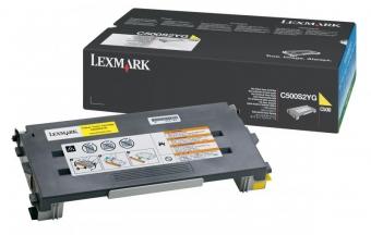 LEXMARK C500S2YG YELLOW TONER