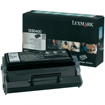 LEXMARK 12S0400 BLACK TONER