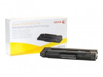 XEROX 108R00908 BLACK TONER CARTRIDGE