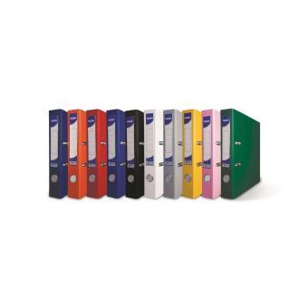 Biblioraft NOKI A4 Plastifiat 7.5cm Diverse Culori