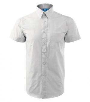 Cămaşă pentru bărbaţi Shirt short sleeve 207 alba