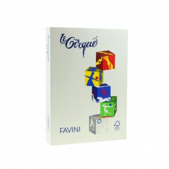 HARTIE COLORATA 80G/MP A4 CREM FAVINI 110