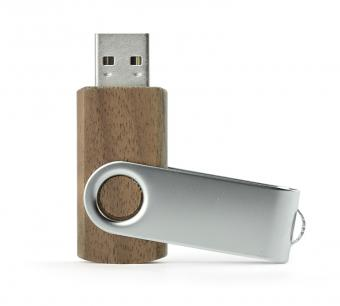 USB Memory Stick TWISTER Walnut 8GB