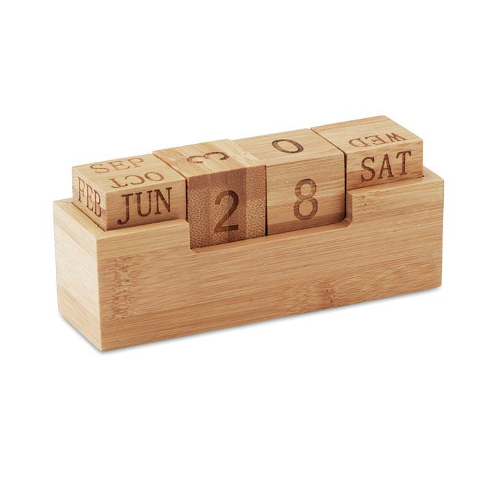 Calendar din bambus            MO9404-40