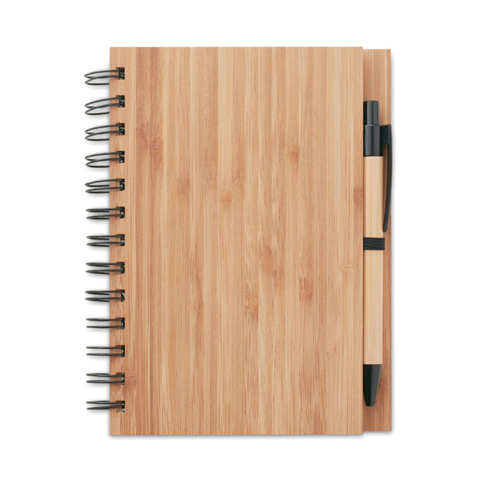 Carnet din bambus cu pix       MO9435-40