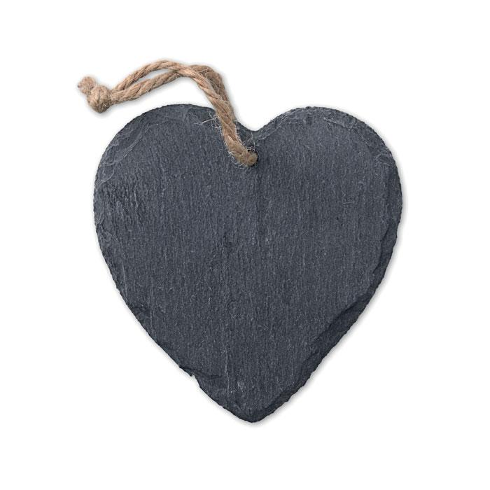 Decorațiune ardezie inimă      MO9359-03