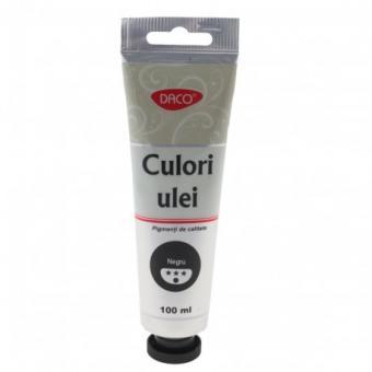 Culori ulei 100 ml Negru DACO CU4100N
