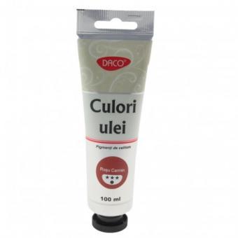 Culori ulei 100 ml Rosu Carmin DACO CU4100RC