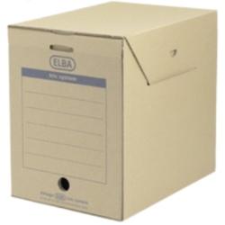 Cutie arhivare 236 x 333 x 308 mm, ELBA Tric Maxi - kraft