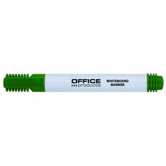 Marker pentru table de scris, varf rotund, corp plastic, Office Products - verde