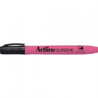 Textmarker ARTLINE Supreme, varf tesit 1.0-4.0mm - roz fluorescent
