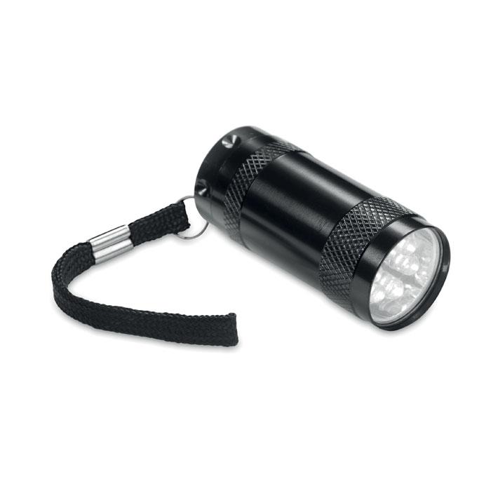 Mini-lanternă aluminiu+lanyard MO7680-03