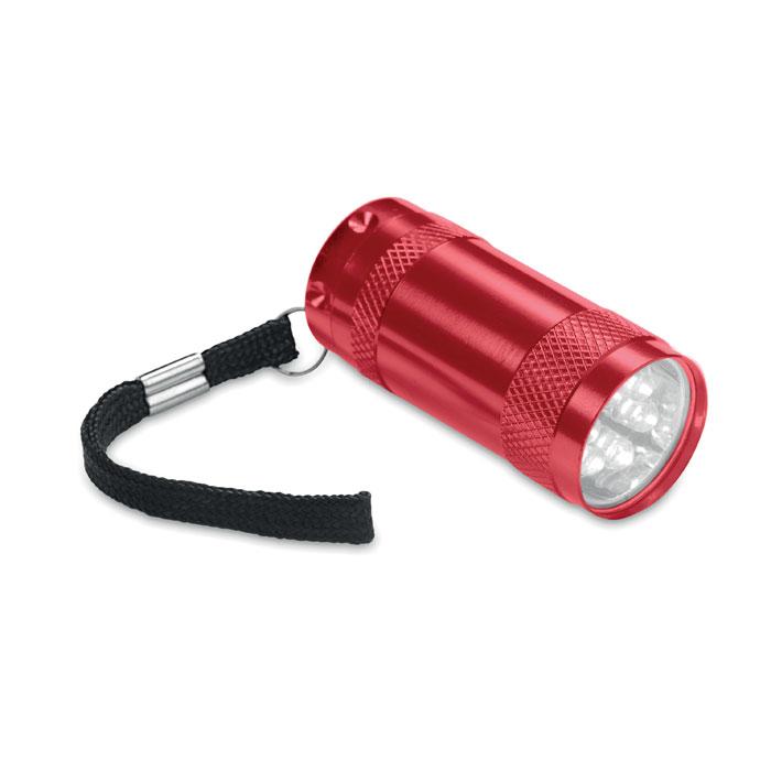 Mini-lanternă aluminiu+lanyard MO7680-05