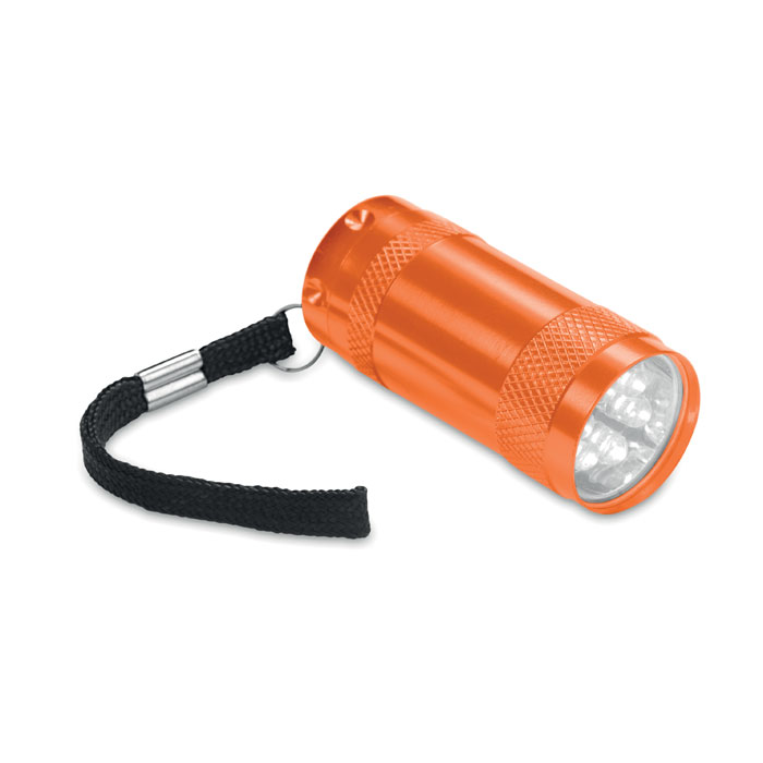 Mini-lanternă aluminiu+lanyard MO7680-10